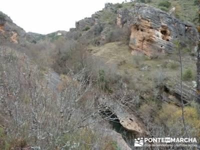 Monasterio de Bonaval - Cañón del Jarama - Senderismo Guadalajara; rutas senderismo leon